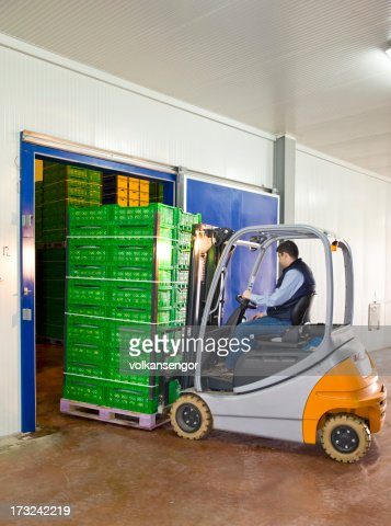 Warehouse entrance