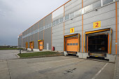 Loading Docks at Distribution Warehouse