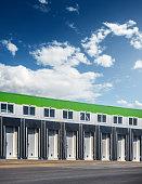 warehouse terminal gates. distribution. transportation.
