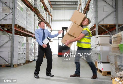 Warehouse worker injury stock photo getty images keywords sciox Choice Image