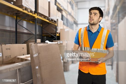 Warehouse worker stock photo getty images sciox Choice Image