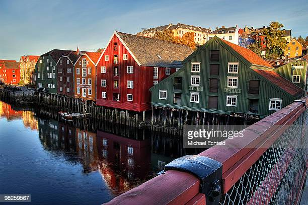 Warehouses at the Nidelva River