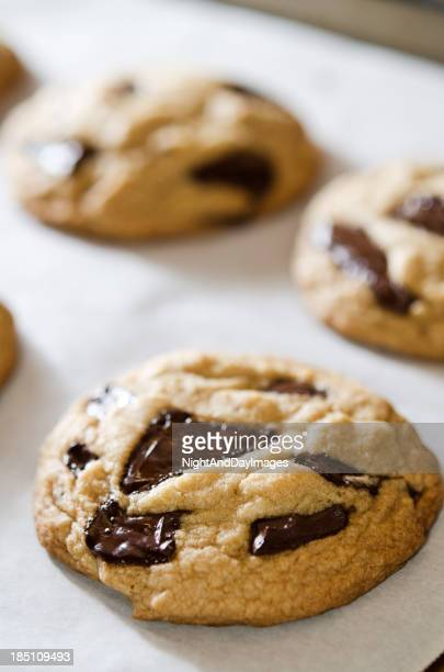 Warm Chocolate Chunk Cookies