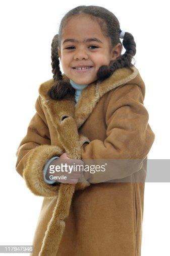 Warm coats for kids
