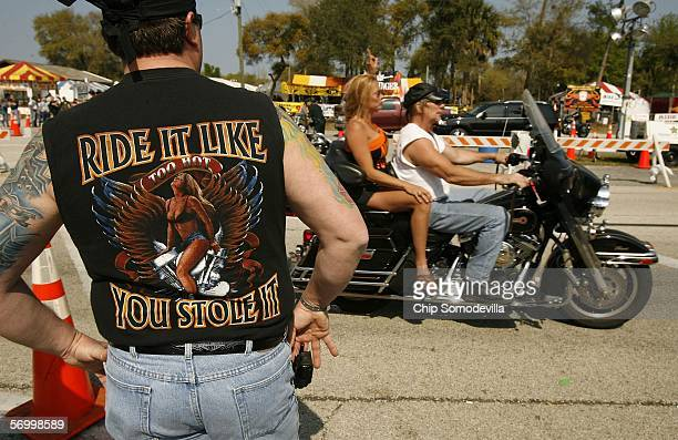 Warm weather cold beer and thousands of motorcycles and their riders take to Highway 1 in front of the Iron Horse Saloon during Bike Week March 4...