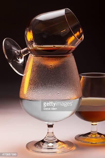 Warming French brandy