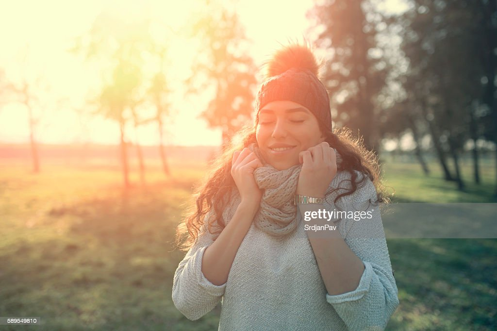 Warmth and happy