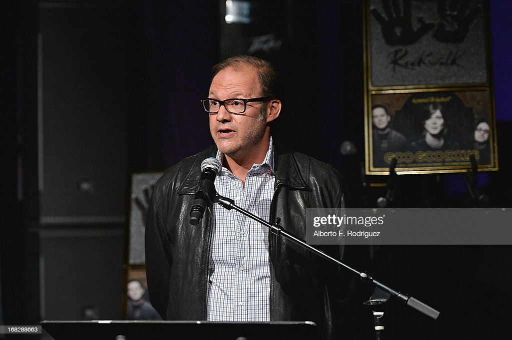 Warner Bros. Records Chairman Rob Cavallo attends a ceremony inducting The Goo Goo Dolls into the Guitar Center RockWalk at Guitar Center on May 7, 2013 in Hollywood, California.