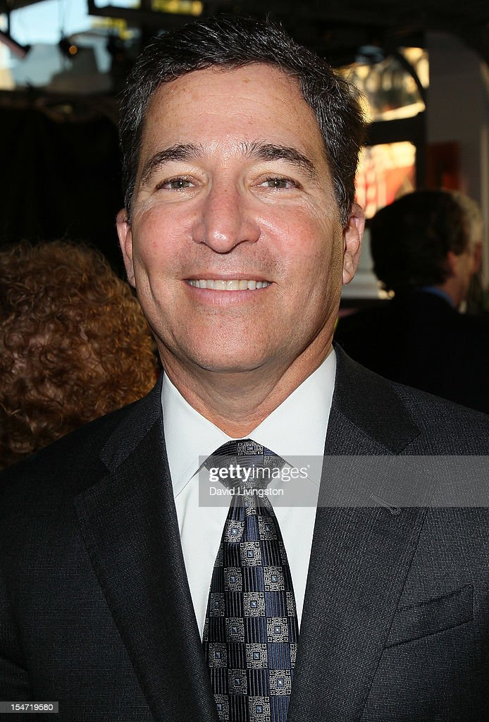 Warner Bros. Television Group president Bruce Rosenblum attends a reception to celebrate the release of Chuck Lorre's 'What Doesn't Kill Us Makes Us Bitter' at Mixology101 & Planet Dailies on October 24, 2012 in Los Angeles, California.