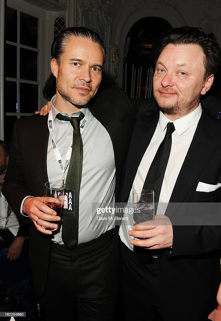 Warner CEO Christian Tattersfield attends the Warner Music Group Post BRIT Party In Association With Samsung at The Savoy Hotel on February 20, 2013 in London, England.