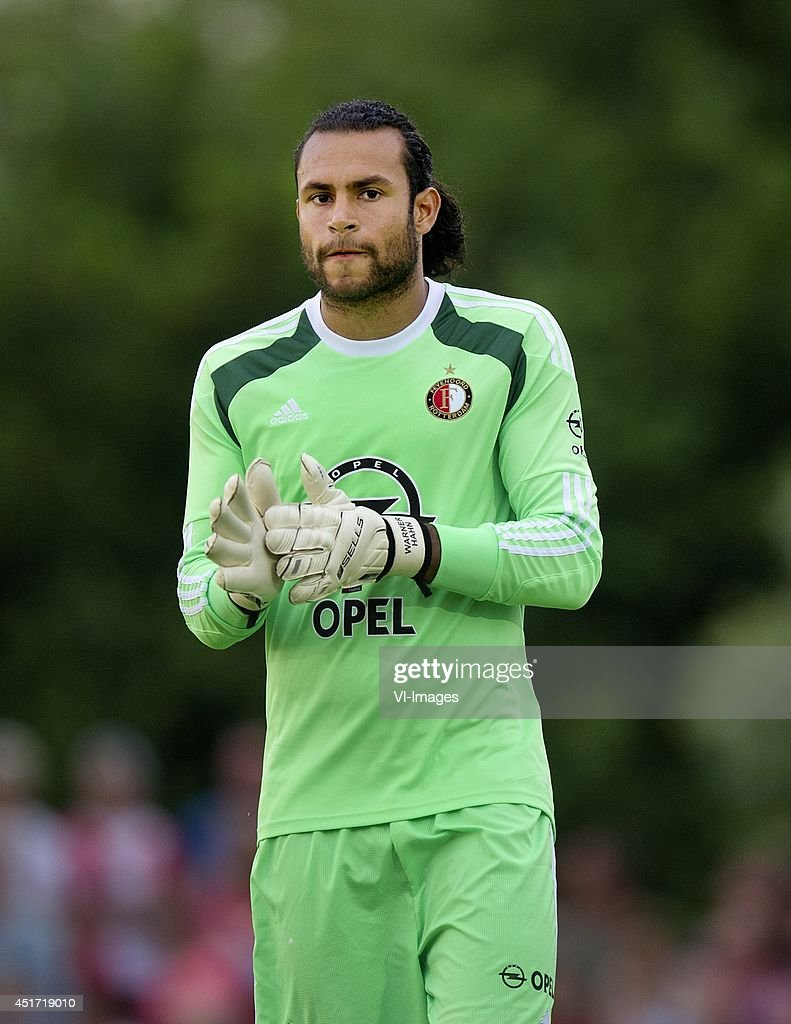 Warner Hahn during the friendly match between VOC and Feyenoord on July 4, 2014 at Rotterdam, The Netherlands.