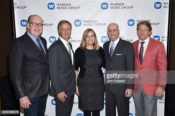 Warner Music Group's Nashville Chairman/CEO John Esposito Governor of Tennessee Bill Haslam Nashville's Mayor Megan Barry Warner Music Group's Senior...