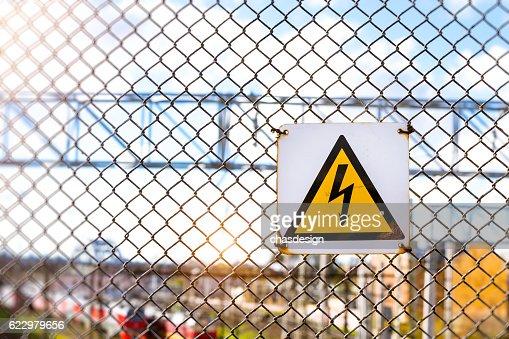 Warning High Voltage Symbol Stock Photo Thinkstock
