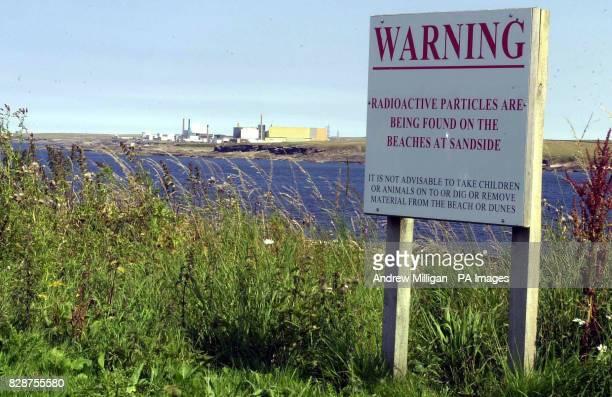 A warning sign at Sandside beach near the Dounreay nuclear power station in Scotland An environmental watchdog could recommend prosecuting the...
