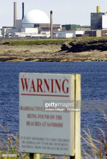 Warning sign on Sanside beach near Dounreay nuclear power station in Scotland An environmental watchdog could recommend prosecuting the operator of...