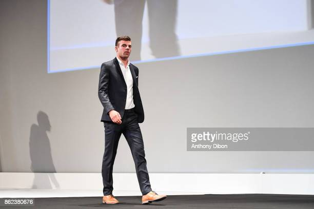 Warren Barguil during the presentation of the Tour de France 2018 at Palais des Congres on October 17 2017 in Paris France