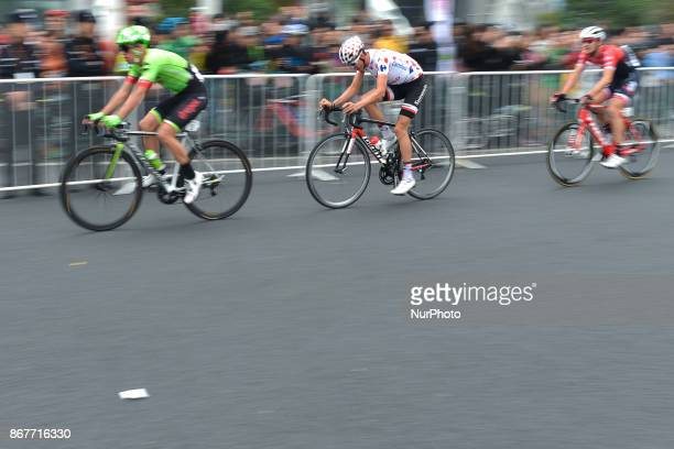 Warren BARGUIL from Sunweb Team in action during the 1st TDF Shanghai Criterium 2017 On Sunday 29 October 2017 in Shanghai China