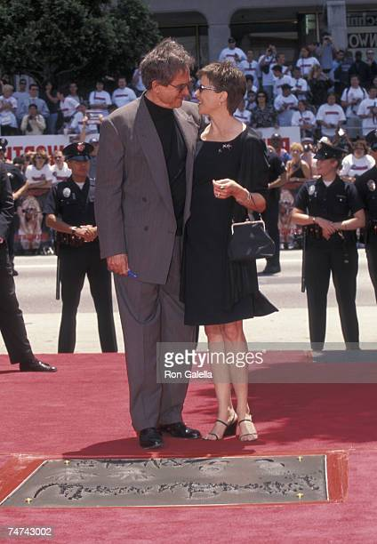 Warren Beatty and Annette Bening at the Mann's Chinese Theater in Hollywood California