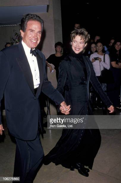 Warren Beatty and Annette Bening during 10th Carousel of Hope Ball to Benefit Juvenile Diabetes at Beverly Hilton Hotel in Beverly Hills California...