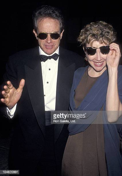 Warren Beatty and Annette Bening during American Film Institute Honors Jack Nicholson with 1994 Life Achievement Award at Beverly Hilton Hotel in...