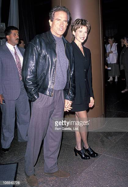 Warren Beatty and Annette Bening during 'Love Affair' Premiere October 13 1994 at Directors Guild in West Hollywood California United States