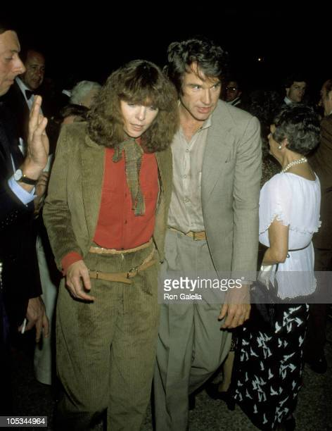 Warren Beatty and Diane Keaton during Richard Avedon Opening at the Metropolitan Museum of Art September 13 1978 at Metropolitan Museum of Art in New...
