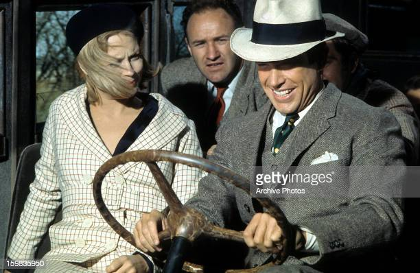 Warren Beatty and Faye Dunaway in a scene from the film 'Bonnie and Clyde' 1967