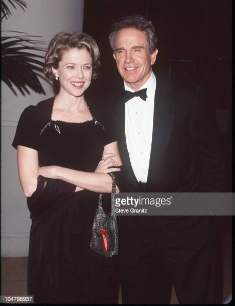 Warren Beatty Annette Bening during 51st Annual Writers Guild of America Awards at Beverly Hilton Hotel in Beverly Hills California United States