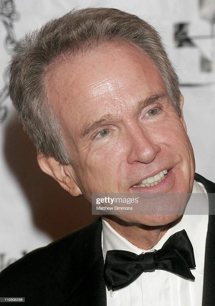 Warren Beatty during 2006 St Johns Health Center Caritas Gala October 14 2006 at Regent Beverly Wilshire in Beverly Hills California United States