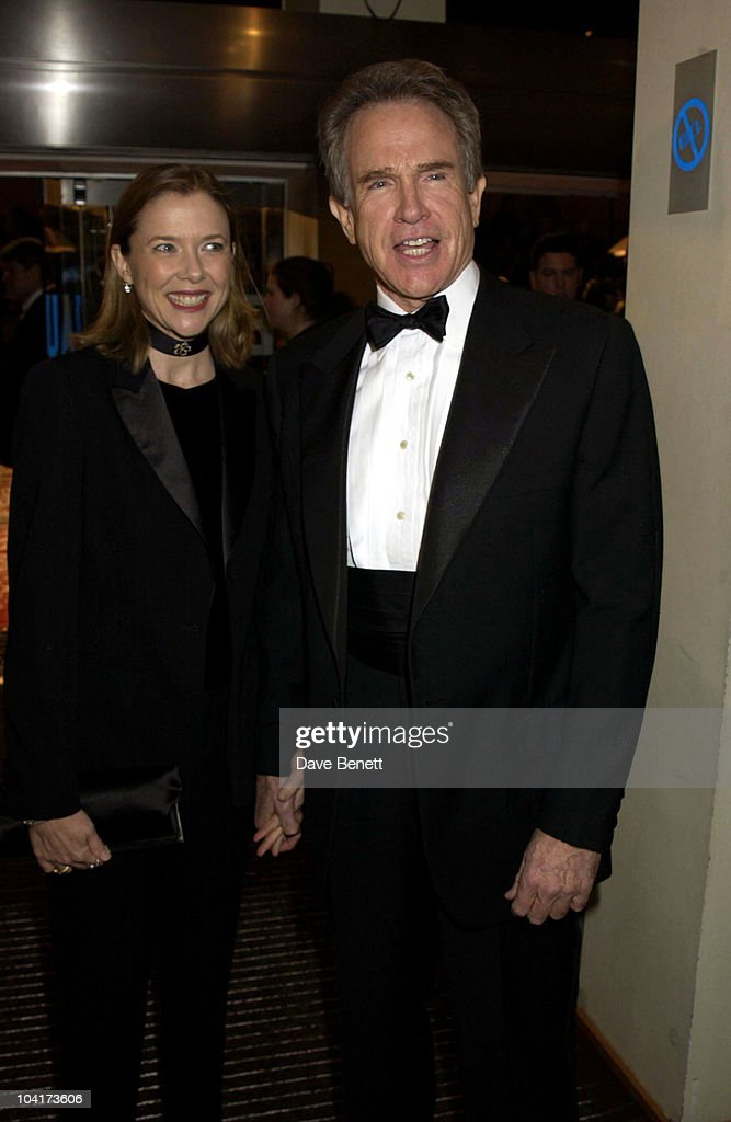 Warren Beatty & Wife Annette Bening, The Orange British Academy Film Awards (bafta) 2002, At The Odeon, Leicester Square, London