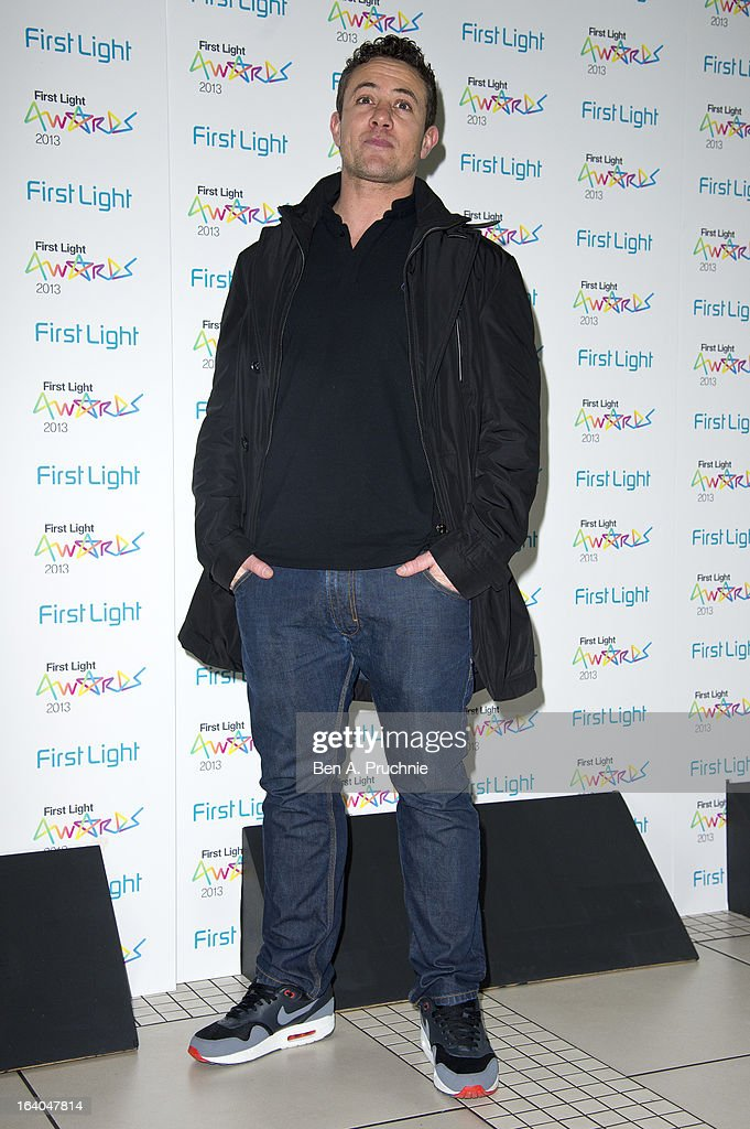 Warren Brown attends the First Light Awards at Odeon Leicester Square on March 19, 2013 in London, England.