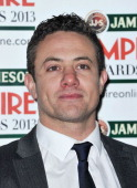Warren Brown is pictured arriving at the Jameson Empire Awards at Grosvenor House on March 24 2013 in London England
