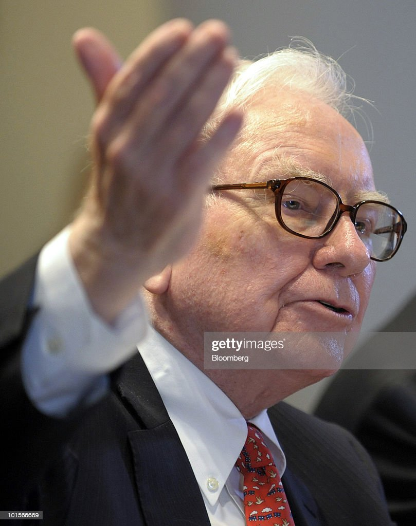 <a gi-track='captionPersonalityLinkClicked' href=/galleries/search?phrase=Warren+Buffet&family=editorial&specificpeople=533069 ng-click='$event.stopPropagation()'>Warren Buffet</a>t, chairman and chief executive officer of Berkshire Hathaway Inc., testifies at a hearing of the Financial Crisis Inquiry Commission in New York, U.S., on Wednesday, June 2, 2010. Buffett, whose Berkshire Hathaway Inc. is the largest shareholder in Moody's Corp., said the ratings firm's chief executive officer shouldn't be singled out for blame over credit grades on mortgage-related assets that proved to be wrong. Photographer: Peter Foley/Bloomberg via Getty Images