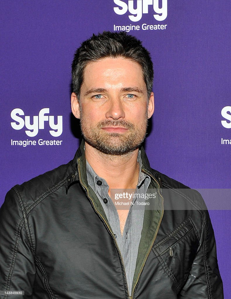 <a gi-track='captionPersonalityLinkClicked' href=/galleries/search?phrase=Warren+Christie&family=editorial&specificpeople=4194552 ng-click='$event.stopPropagation()'>Warren Christie</a> attends the Syfy 2012 Upfront event at the American Museum of Natural History on April 24, 2012 in New York City.