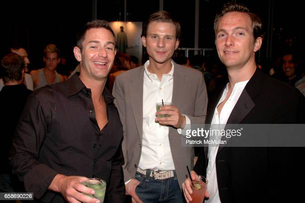 Warren Cohn Greg Mali and Henry Detering attend PATRICK DUFFY and IAMSTERDAM present PRIDE at The Standard on June 28 2009 in New York City