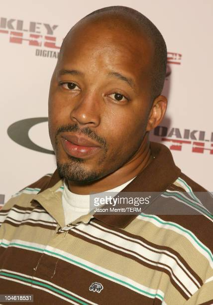 Warren G during Oakley THUMP 2 Launch Party October 12 2005 at Montmatre Lounge in Hollywood California United States