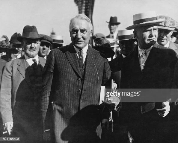 Warren (AR) United States  City pictures : Warren G Harding the United States Senator from Ohio 1920 He became US ...