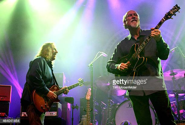 Warren Haynes and John Scofield and Gov't Mule perform in support of the band's ' ScoMule' release at The Fox Theater on February 20 2015 in Oakland...