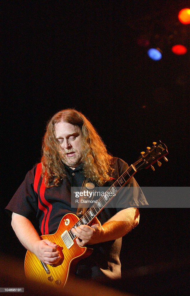 Warren Haynes of Gov't Mule during Voodoo Music Experience 2003 - Day Two at City Park in New Orleans, Louisiana, United States.