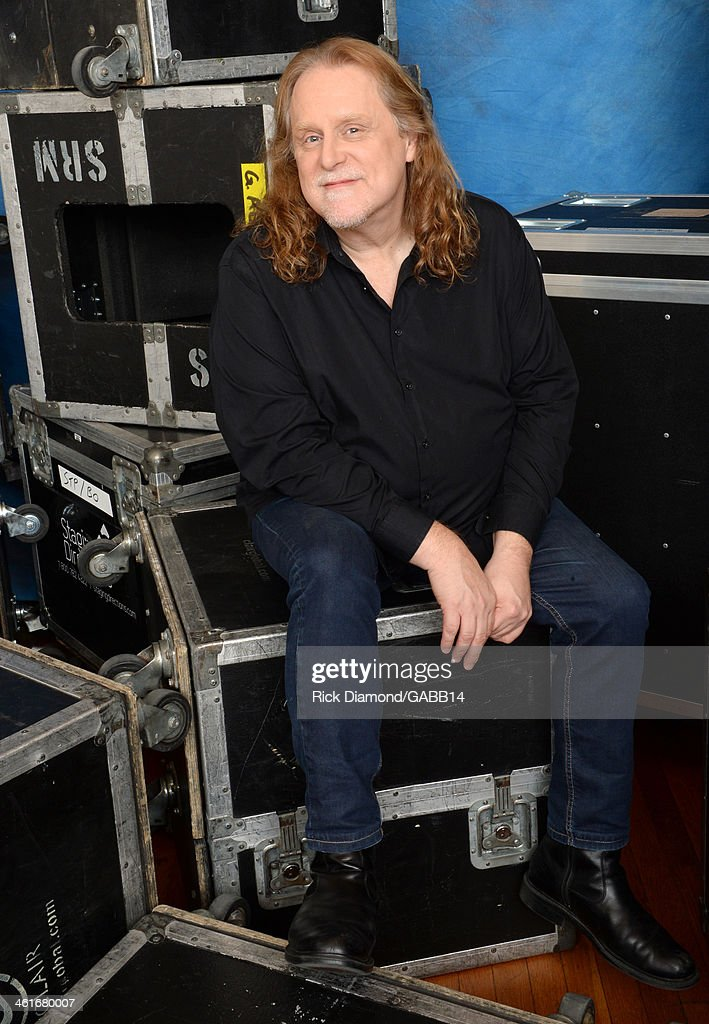 Warren Haynes poses for a portrait at All My Friends: Celebrating the Songs & Voice of Gregg Allman at The Fox Theatre on January 10, 2014 in Atlanta, Georgia.