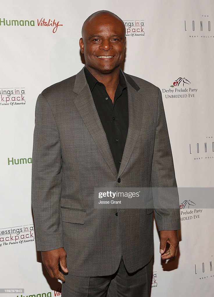 Warren Moon attends The 4th Annual Unbridled Eve Derby Prelude Party at The London West Hollywood on January 10, 2013 in West Hollywood, California.
