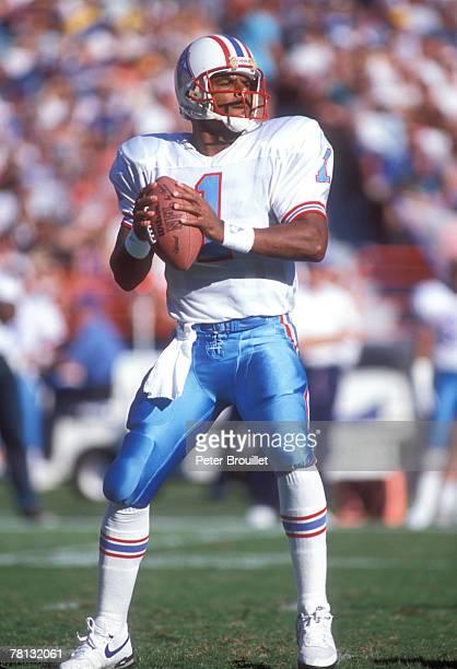 Warren Moon of the Houston Oilers