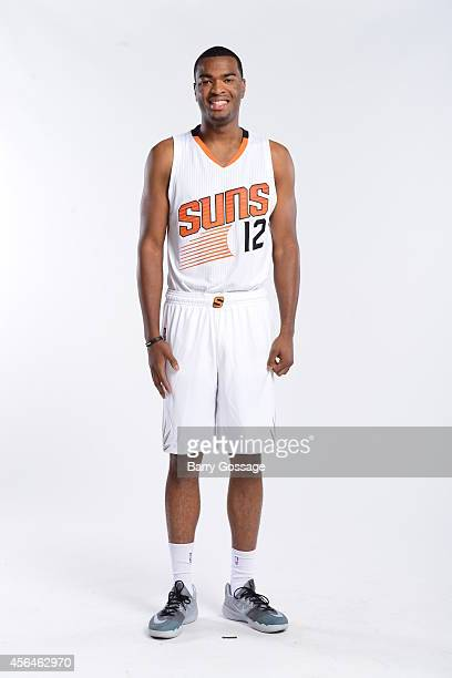J Warren of the Phoenix Suns poses for a photo during Media Day on September 29 2014 at US Airways Center in Phoenix Arizona NOTE TO USER User...