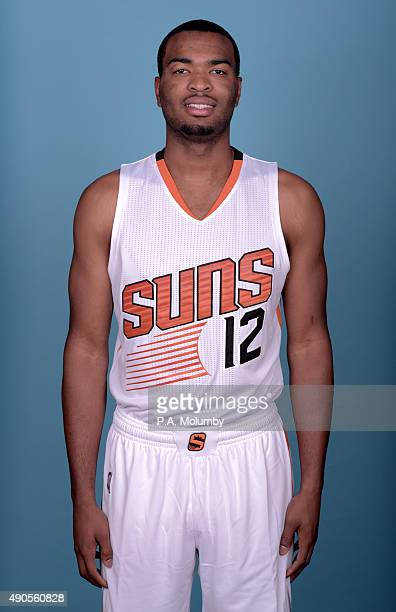 J Warren of the Phoenix Suns poses for a portrait on Media Day on September 28 2015 at the Talking Stick Resort Arena in Phoenix Arizona NOTE TO USER...