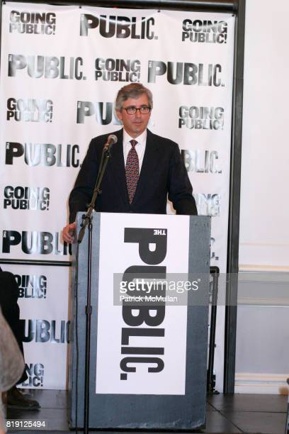 Warren Spector attends THE PUBLIC THEATRE Kicks Off Building Renovations and Launches CAPITAL CAMPAIGN With CEREMONIAL GROUNDBREAKING at The Public...