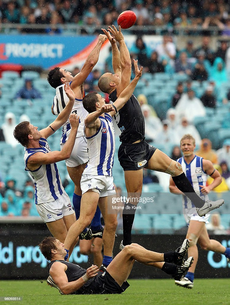 AFL Rd 1 - Port Adelaide v North Melbourne