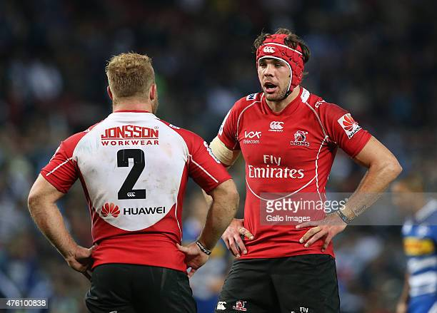 Warren Whiteley of Lions during the Super Rugby match between DHL Stormers and Emirates Lions at DHL Newlands Stadium on June 06 2015 in Cape Town...