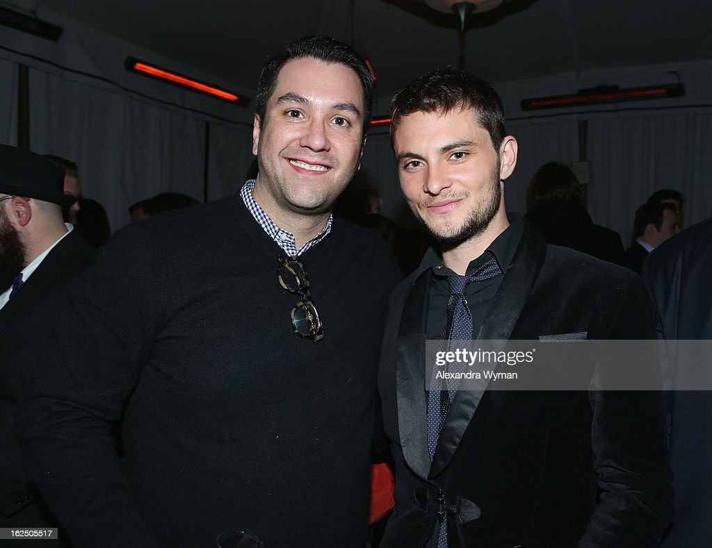 Warren Zavala (L) and actor <a gi-track='captionPersonalityLinkClicked' href=/galleries/search?phrase=Shiloh+Fernandez&family=editorial&specificpeople=740672 ng-click='$event.stopPropagation()'>Shiloh Fernandez</a> attend GREY GOOSE Pre-Oscar Party hosted by Michael Sugar, Doug Wald, Nathan Kahane and Warren Zavala at Chateau Marmont on February 23, 2013 in Los Angeles, California.