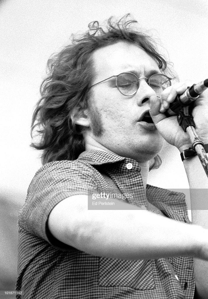 Warren Zevon performs at Campus Stadium at the University of California in Santa Barbara, California on June 4, 1978.