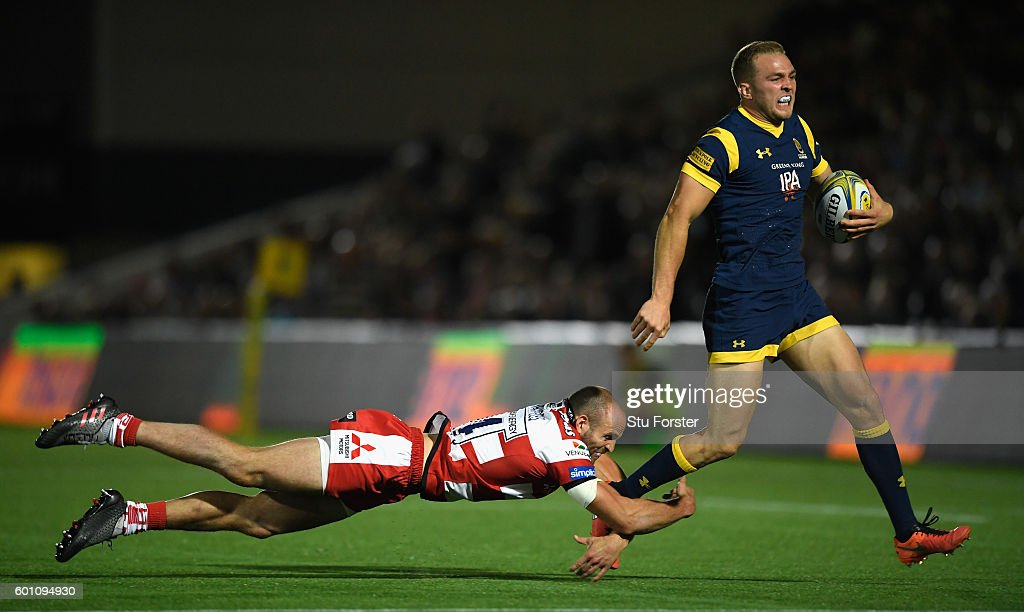 Worcester Warriors v Gloucester Rugby - Aviva Premiership